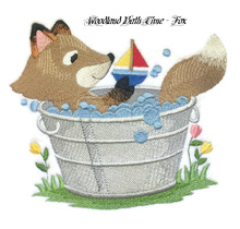 Woodland Bath Time - Fox