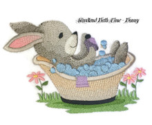 Woodland Bath Time - Bunny