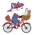 Picnic Pal - Foxy Cyclist