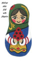 Matryoshka Doll with Poppies
