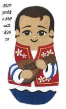 Matryoshka Doll with Kobza
