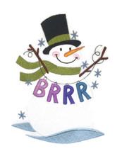 Brrr Snowman