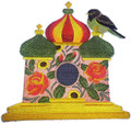 Russian Birdhouse With Apal Thrush