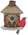 Tiki Birdhouse With Apapane