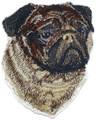 Pug dog Face
