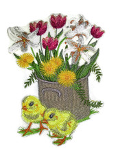 Spring Stitches Chicks