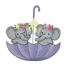 Umbrella Elephants