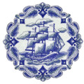 Delft Blue Tall Ship