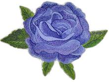 Watercolor Blue Rose