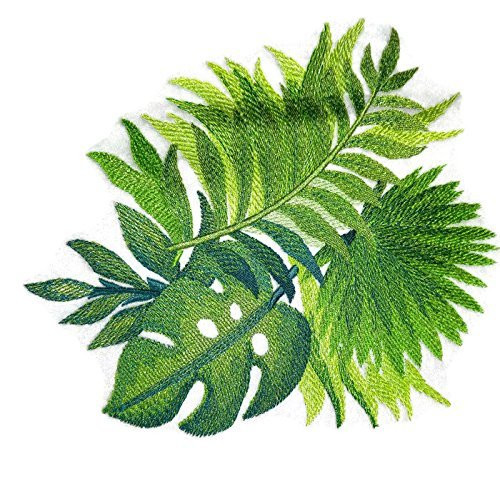 Custom And Unique Watercolor Tropical Leaves Watercolor Tropical Leaves Embroidered Iron On Sew Patch 6 84 8 16 Made In Usa Beyond Vision Mall Ferns, rubber fig trees and areca palms make the perfect houseplants. custom and unique watercolor tropical leaves watercolor tropical leaves embroidered iron on sew patch 6 84 8 16 made in usa