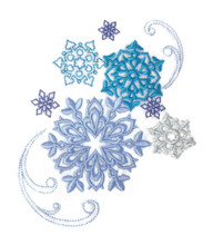 Winter Snowflake Bliss