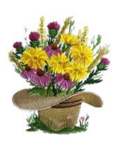 Cowboy Hat Bouquet