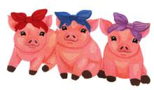 Sweet Piglet Trio