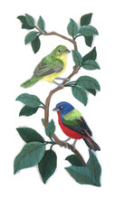 Painted Bunting Panel