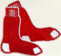 Boston Red Sox Alter Embroidery log iron on patch