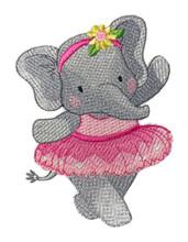 Twirling Ballerina Elephant