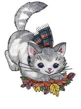 Cozy Kitty with Scarf