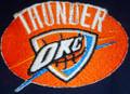 Oklahoma City Thunder logo Iron On Patch