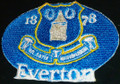 Everton FC. Embroidery logo Iron On Patch
