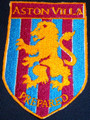 Aston Villa FC. logo Iron On Patch