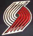 Portland Trailblazers Logo Iron On Patch