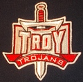 Troy Trojans logo Iron On Patch