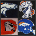 Denver Broncos Iron On Patches