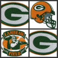 Green Bay Packers Iron On Patches
