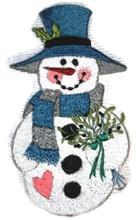 Snowman with Bouquet