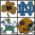 Notre Dame Irish ( leprechaun )   iron on patches