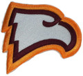 Winthrop Eagles logo Iron On Patch