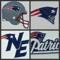 New England Patriots Logo Patch