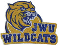 JWU Wildcats logo Iron On Patch