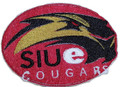 Southern Illinois Edwardsville Cougars   logo Iron On Patch
