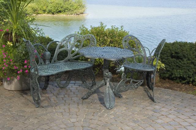 3-pcsantique Butterfly Chair