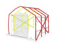 StorageHouse 3XL Replacement Pole Set