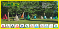 5ft dia Hanging Hammock TearDrop Swing Chair