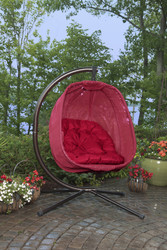Egg Chair Red Scratch & Dent