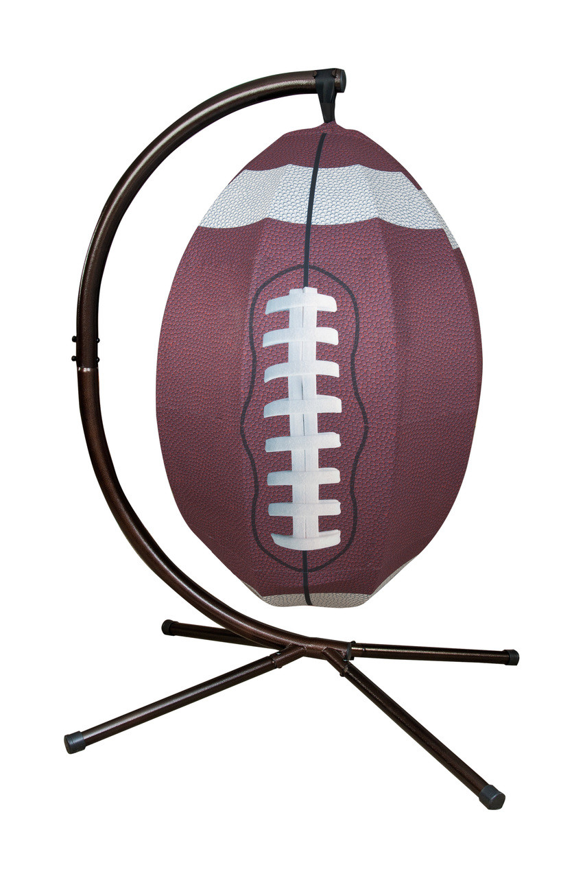 9e8de6bc2 Football Hanging Lounge Chair W/ Stand. Price: $568.75. Image 1