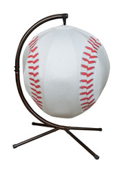Baseball Hanging Lounge Chair W/ Stand
