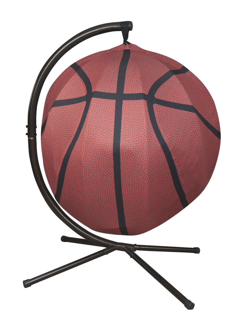 ed44e6587 Basketball Hanging Lounge Chair W/ Stand. Price: $568.75. Image 1