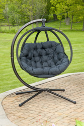 Overland Ball Chair W/Stand Scratch & Dent