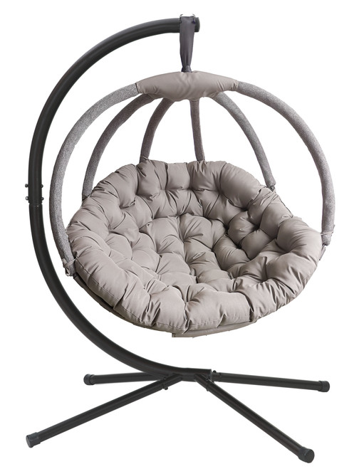 Overland Hanging Ball Chair in Sand