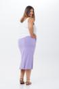 Pencil Skirt short back view