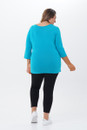 Twist top 3/4 sleeves-back view