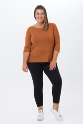 Zabrina 3/4 Sleeves-Front view