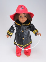 Firefighter Costume For 18 Inch American Girl Dolls