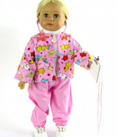 Vet Scrubs Outfit For 18 Inch American Girl Dolls