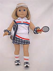 9033f7c71a37b Red, White & Blue Tennis Outfit For American Girl Dolls