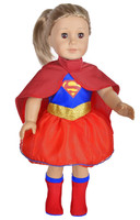 Save $5. Super Hero Costume For American Girl Dolls